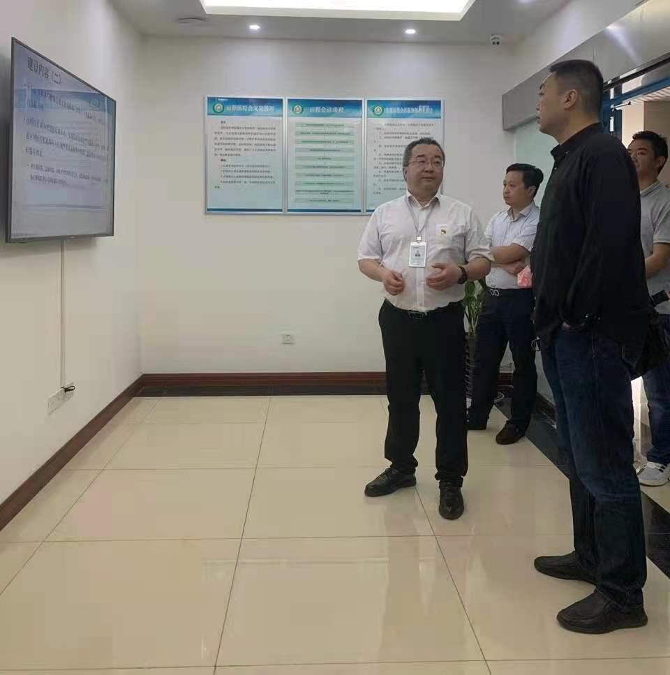 四川数字金沙科技有限公司领导莅临泸州市远程医学管理中心参观调研